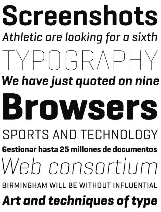 Geogrotesque | Directorio de Tipografía Latinoamericana